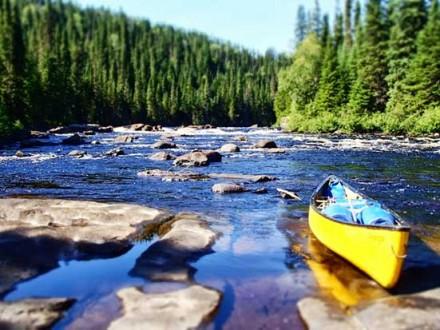 Circuit Québec en Canoë Kayak - canoë sur berge